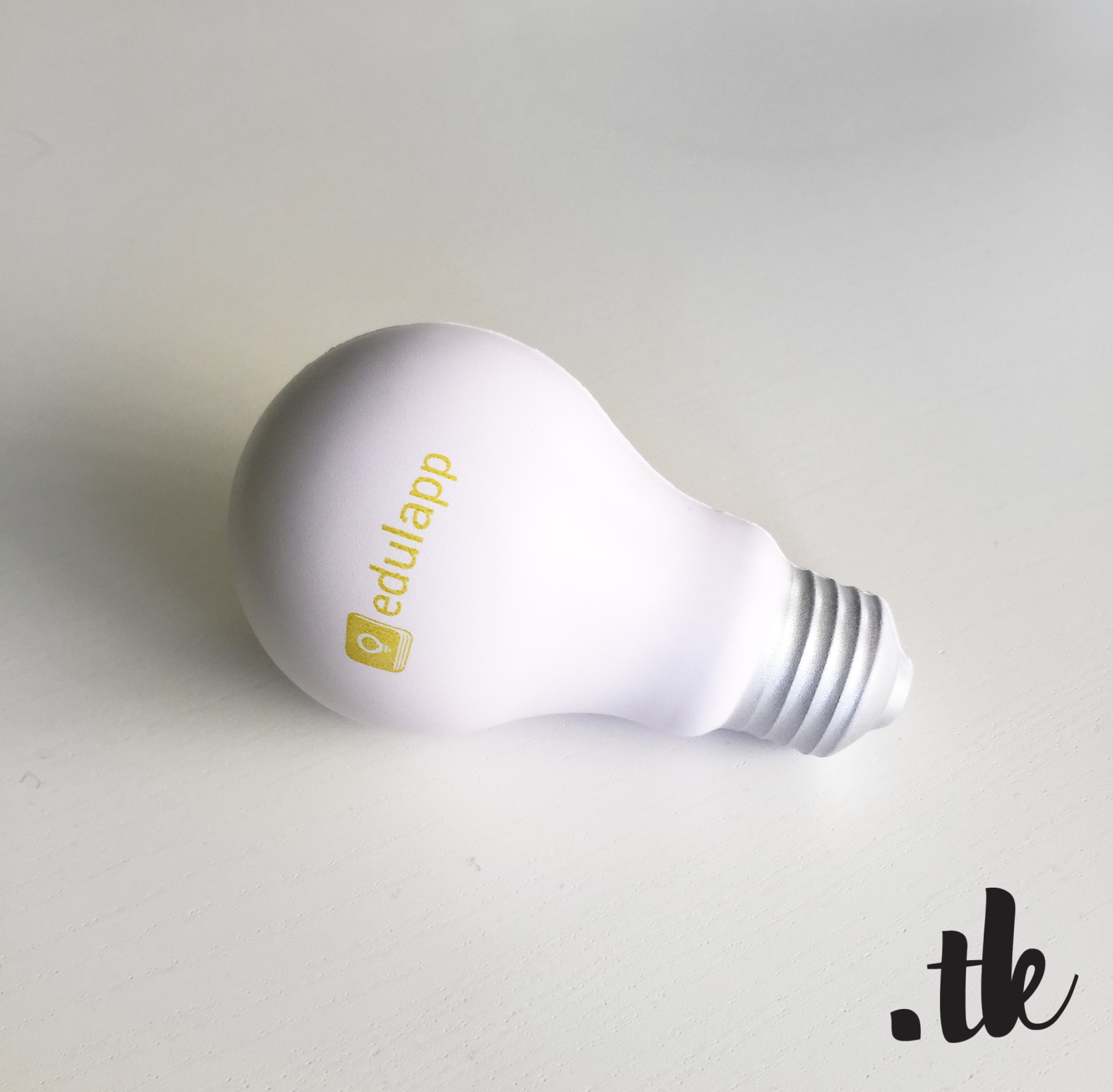 Anti-Stress Bulb: Give Away Design, Event Marketing; Client: edulapp